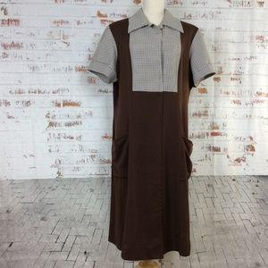 """Vintage Plus Size """"Diner"""" Dress with Pockets"""